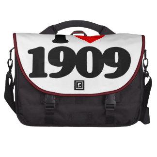 I LOVE 1909 LAPTOP BAG