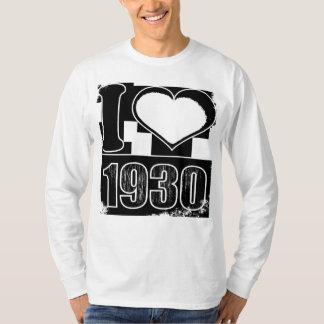 I love 1930 - Vintage T-Shirt