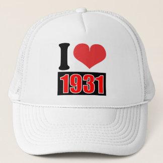 I love 1931 - Hat