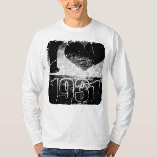 I love 1931 - Vintage T-Shirt
