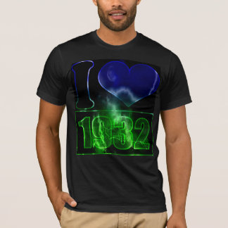 I love 1932 - lighting effects T-Shirt