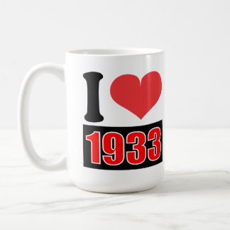 I love 1933 - Mugs