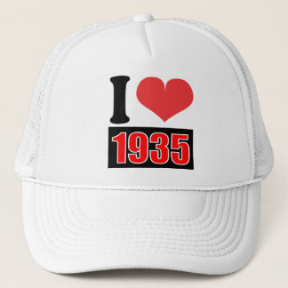 I love 1935 - Hat