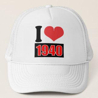 I love 1940 - Hat