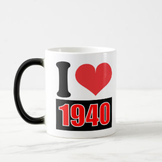 I love 1940 - Mugs