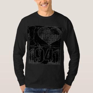 I love 1941 - Black Vintage T-shirt