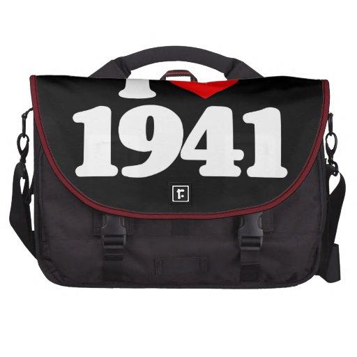 I LOVE 1941 LAPTOP BAG