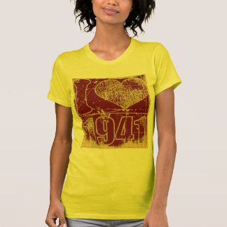 I love 1941 -  Yellow, crimson Vintage t-shirt