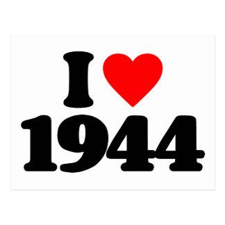 I LOVE 1944 POSTCARD
