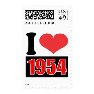 I love 1954 postage