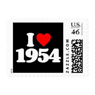 I LOVE 1954 STAMP