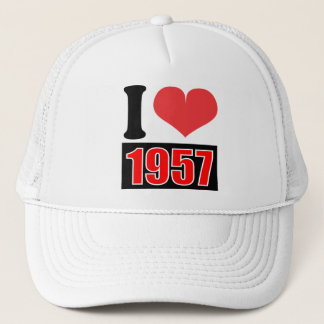 I love 1957 - Hat
