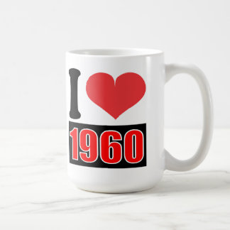 I love 1960 - Mugs