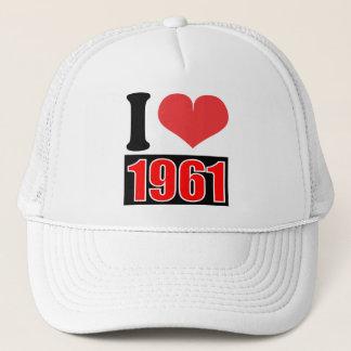 I love 1961 - Hat