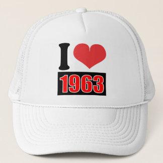 I love 1963 - Hat