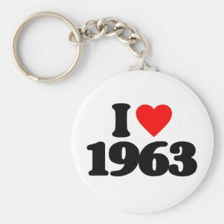 I LOVE 1963 KEY CHAIN