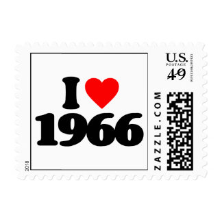 I LOVE 1966 STAMPS