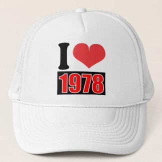 I love 1978    - Hat