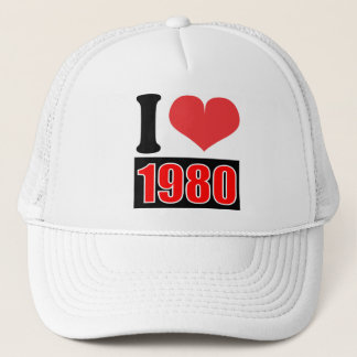 I love 1980    - Hat