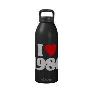 I LOVE 1986 DRINKING BOTTLE