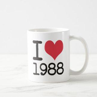 I Love 1988 Products & Designs! Coffee Mug