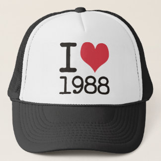 I Love 1988 Products & Designs! Trucker Hat
