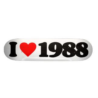 I LOVE 1988 SKATEBOARD DECKS