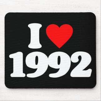I LOVE 1992 MOUSEPADS