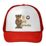 I Love 1st Grade Tshirts and Gifts Hat