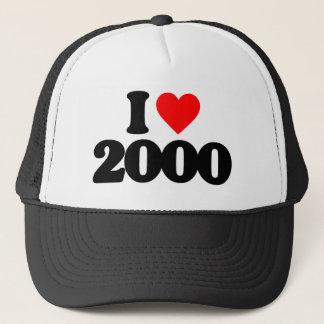 I LOVE 2000 TRUCKER HAT