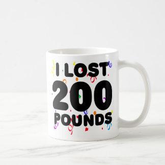 I Love 200 Pounds Party Coffee Mug