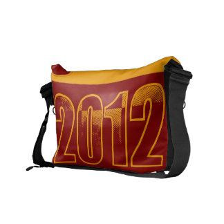 I love 2012 - Pop art vintage - Messenger Bags