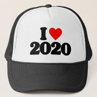 I LOVE 2020 TRUCKER HAT