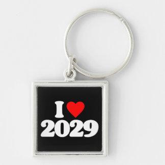 I LOVE 2029 KEY CHAINS