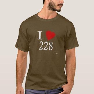 I Love 228 Biloxi T-Shirt