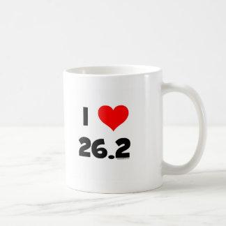 I Love 26.2 Coffee Mug