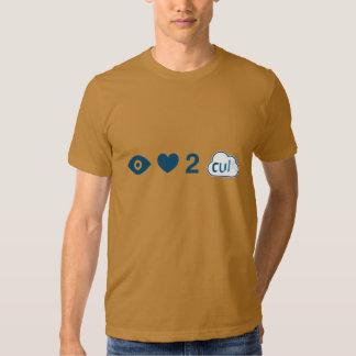 I Love 2 Cull T Shirt