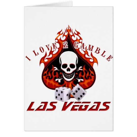 I Love 2 Gamble - Las Vegas Card