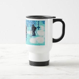 I love 2 ski travel mug