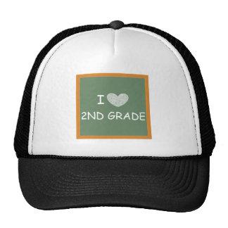 I Love 2nd Grade Trucker Hat