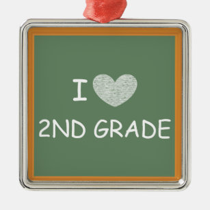 I Love Second Grade Gifts On Zazzle