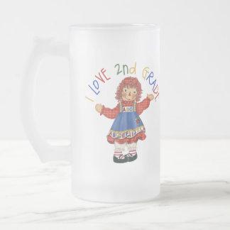 I Love 2nd Grade Mugs