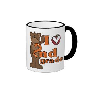 I Love 2nd Grade Ringer Mug
