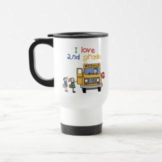 I Love 2nd Grade Travel Mug