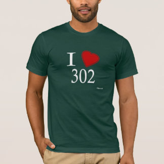 I Love 302 Dover T-Shirt