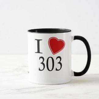 I Love 303 Aurora Mug
