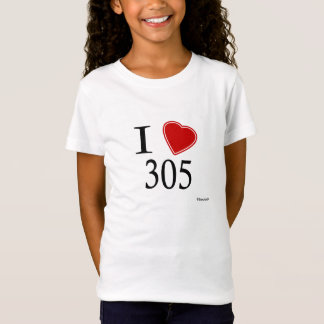 I Love 305 Hialeah T-Shirt