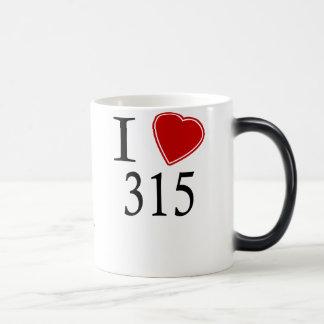 I Love 315 Syracuse Magic Mug
