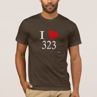 I Love 323 Los Angeles T-Shirt