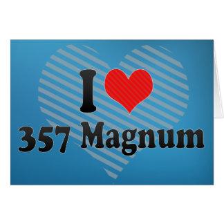 I Love 357 Magnum Card